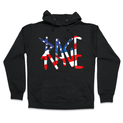Rage (America) Hooded Sweatshirt