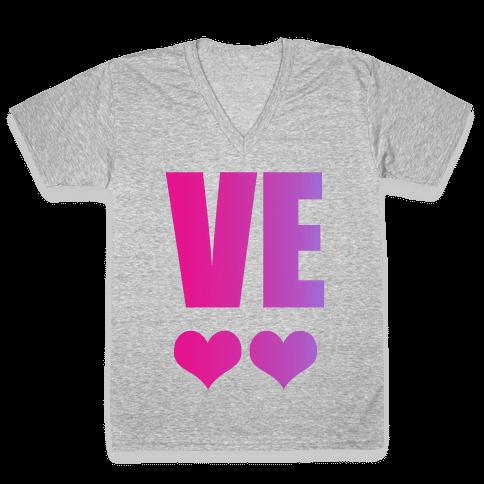 Love Your Bestie V-Neck Tee Shirt