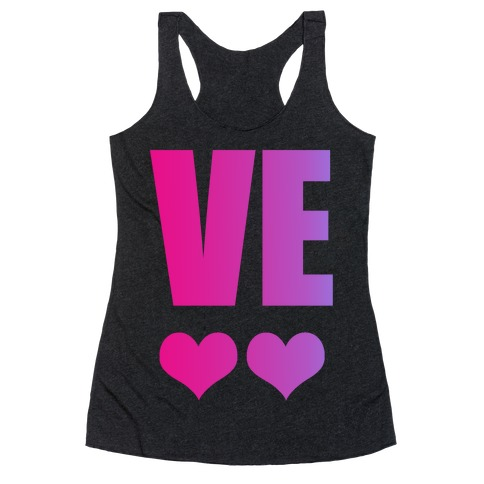 Love Your Bestie Racerback Tank Top