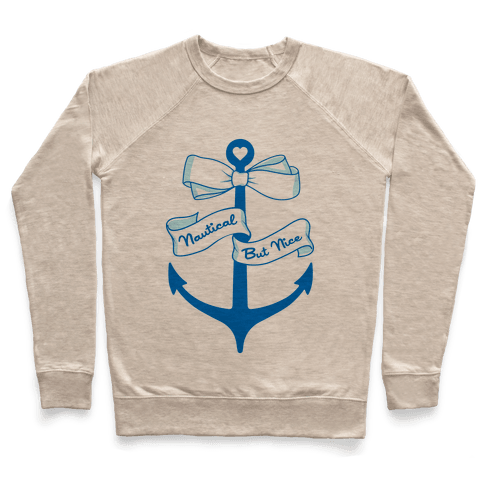 Nautical But Nice Pullover