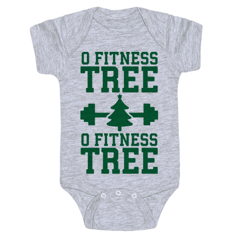O Fitness Tree, O Fitness Tree Baby Onesy