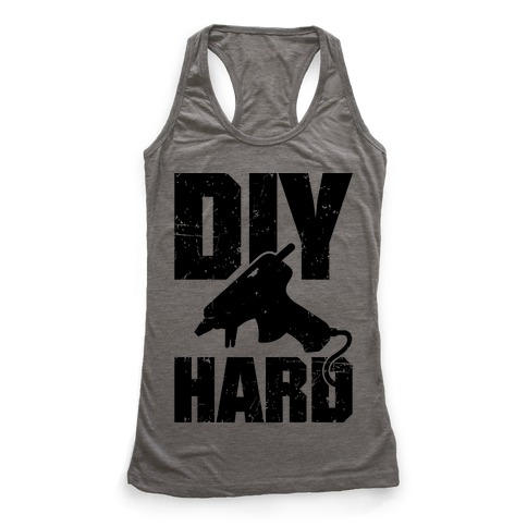 DIY Hard Racerback Tank Top