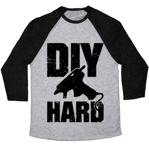 DIY Hard Baseball Tee