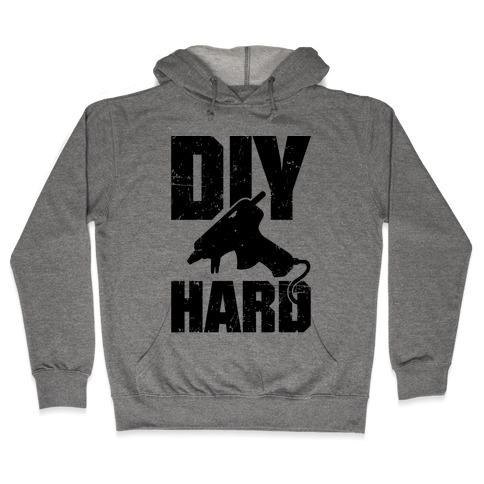 DIY Hard Hooded Sweatshirt