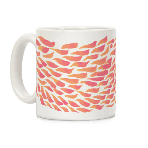 Watercolor Flower Petals Coffee Mug