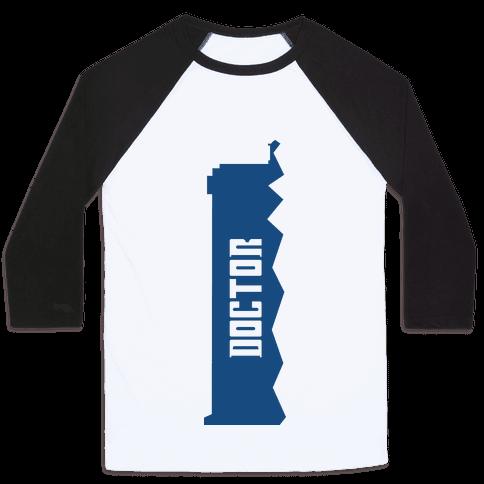 Doctor (Doctor and Companion Shirt) Baseball Tee