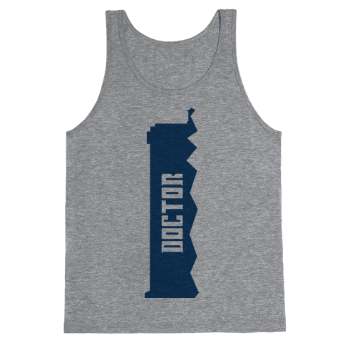 Doctor (Doctor and Companion Shirt) Tank Top