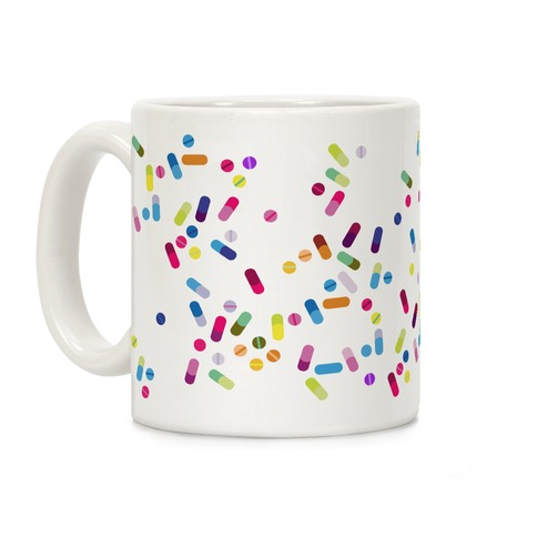 Pill pattern Coffee Mug