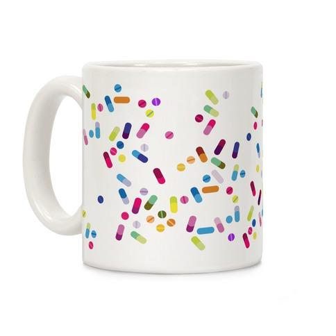 Pill pattern Coffee Mug