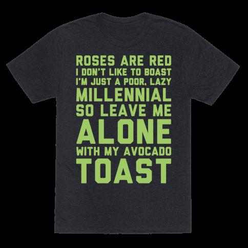 Millennial Poem White Print