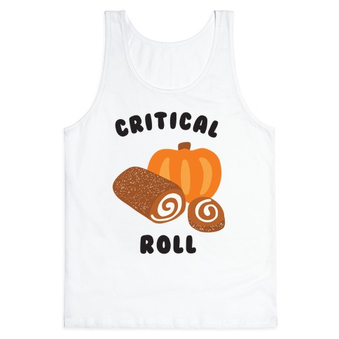 Critical Pumpkin Roll Tank Top
