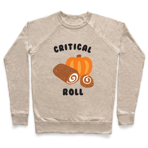Critical Pumpkin Roll Pullover