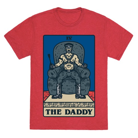 The Daddy Tarot Card Parody T-Shirt