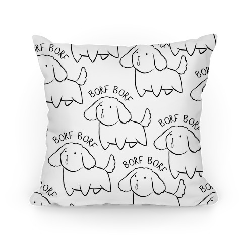 Borf Borf Pillow