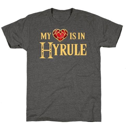 My (Heart) is in Hyrule T-Shirt