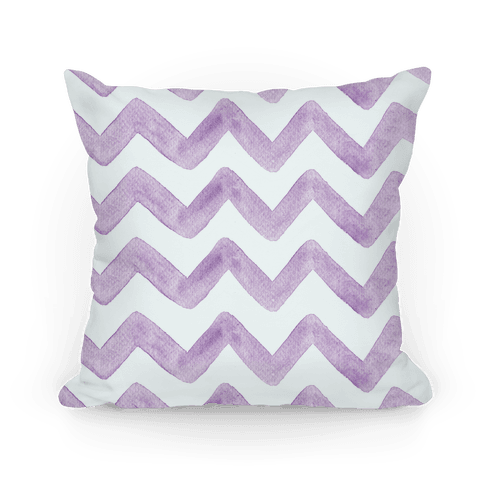Purple Watercolor Chevron Pattern