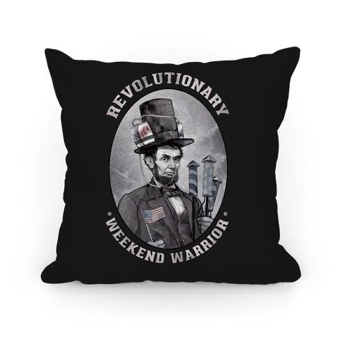 Revolutionary Weekend Warrior Pillow Pillow