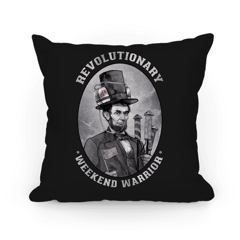 Revolutionary Weekend Warrior Pillow Pillow