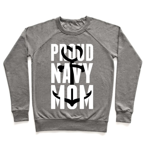Proud Navy Mom Pullover