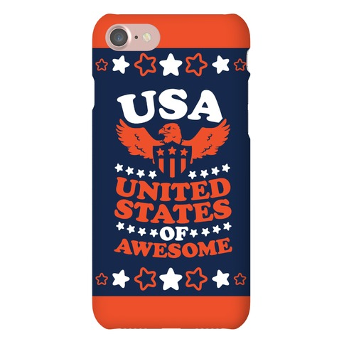 United States of Awesome Phone Case