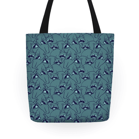Cute Raccoon Pattern Tote