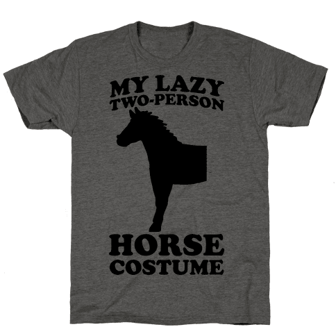 My Lazy Two-Person Horse Costume (head)