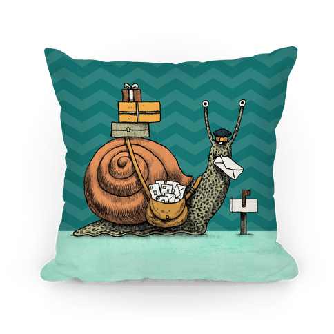 Snail Mail Pillow