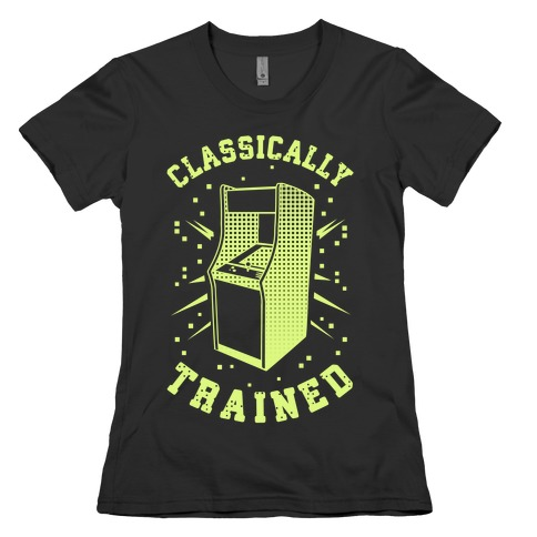 Classically Trained Womens T-Shirt