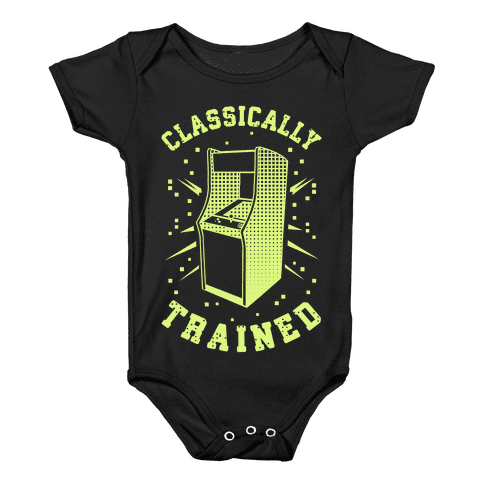 Classically Trained Baby Onesy