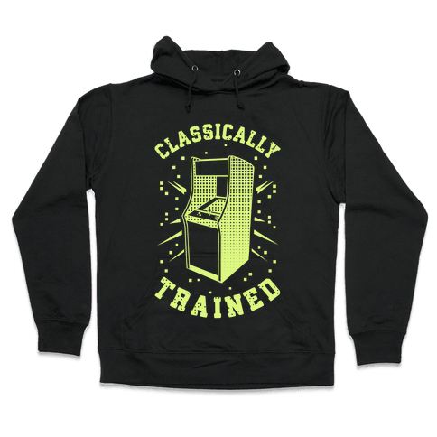 Classically Trained Hooded Sweatshirt
