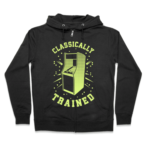 Classically Trained Zip Hoodie