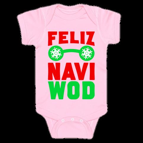 Feliz Navi-WOD Baby Onesy