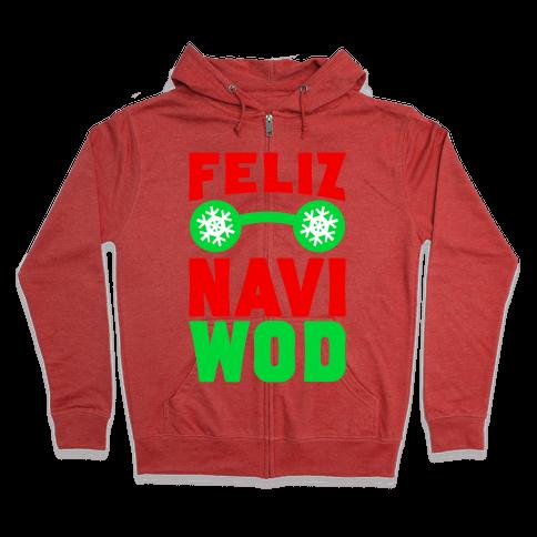 Feliz Navi-WOD Zip Hoodie