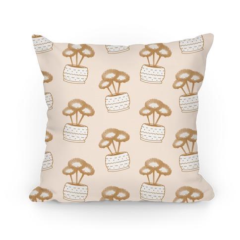 Daisy Pattern Pillow