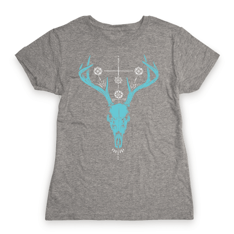 Mystic Skull Womens T-Shirt