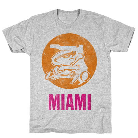 Miami (Vintage) Mens T-Shirt