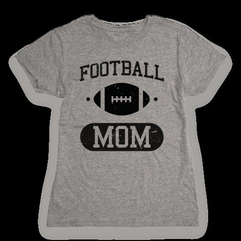 Football Mom Womens T-Shirt