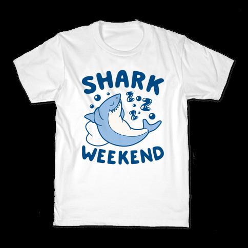 Shark Weekend Kids T-Shirt