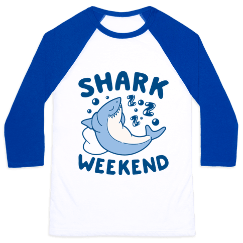 Shark Weekend Baseball Tee
