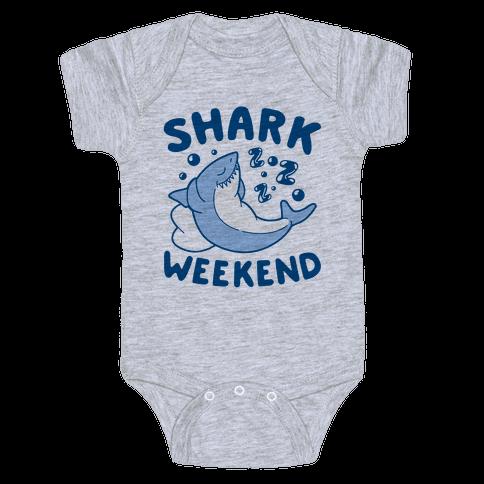 Shark Weekend Baby Onesy