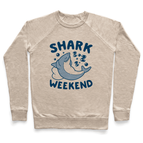 Shark Weekend Pullover