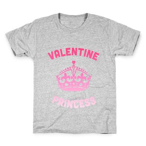 Valentine Princess Kids T-Shirt