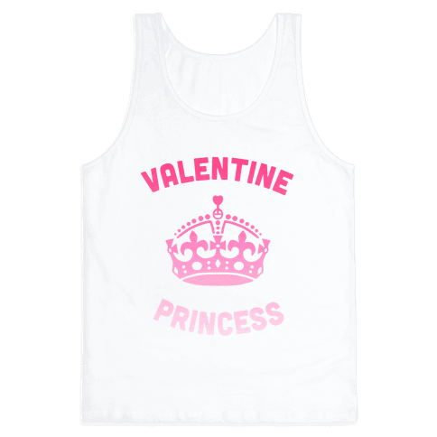 Valentine Princess Tank Top