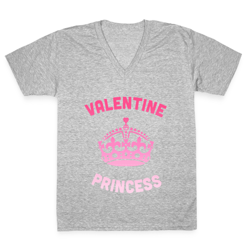 Valentine Princess V-Neck Tee Shirt