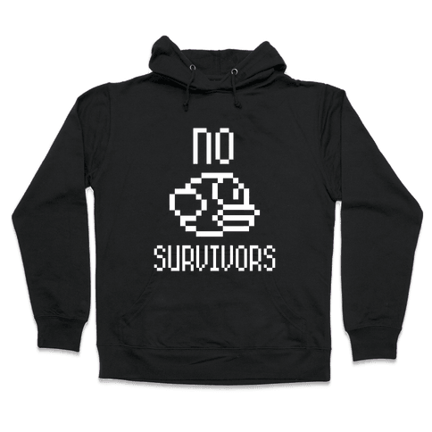 Flappy Bird: No Survivors Hooded Sweatshirt