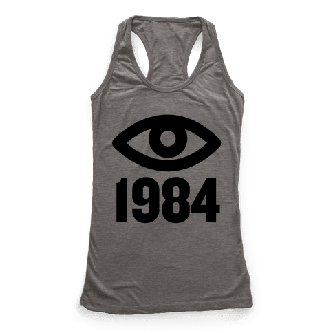 1984 Eye Racerback Tank Top