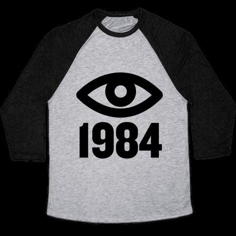 1984 Eye Baseball Tee