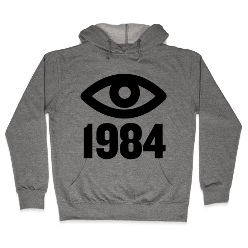 1984 Eye Hooded Sweatshirt
