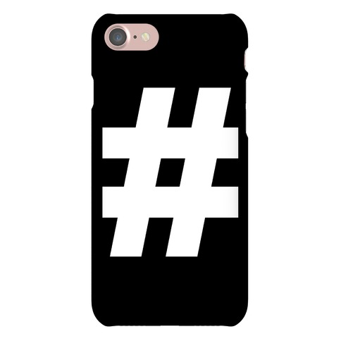 Hashtag Phone Case