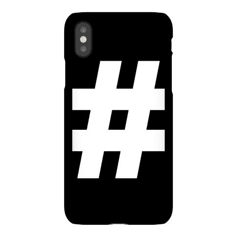 Hashtag Phone Case